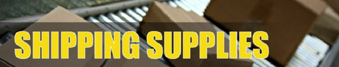 Shipping Supplies Department Banner