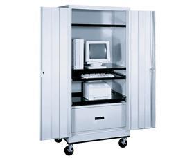 Elegant MOBILE COMPUTER CABINET