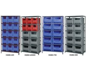 shelving units with stackable storage bins - Stackable Storage Bins