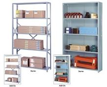 "EXTRA SHELVES FOR 48"" WIDE INDUSTRIAL SHELVING"